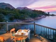 Dining Deck overlooking the Ocean