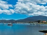 Mount Wellington and The Derwent River